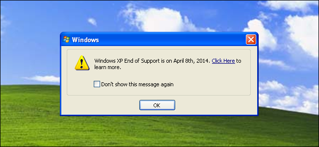 How long is xp supported by microsoft windows 8 arabic support