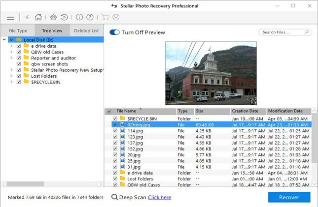 Photo Recovery – Data Repair and Recovery